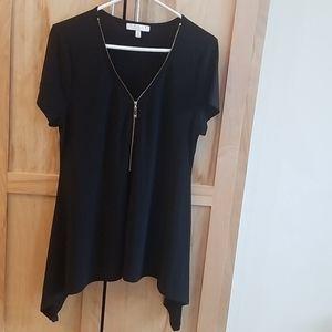 CHAUS, Brand New black blouse